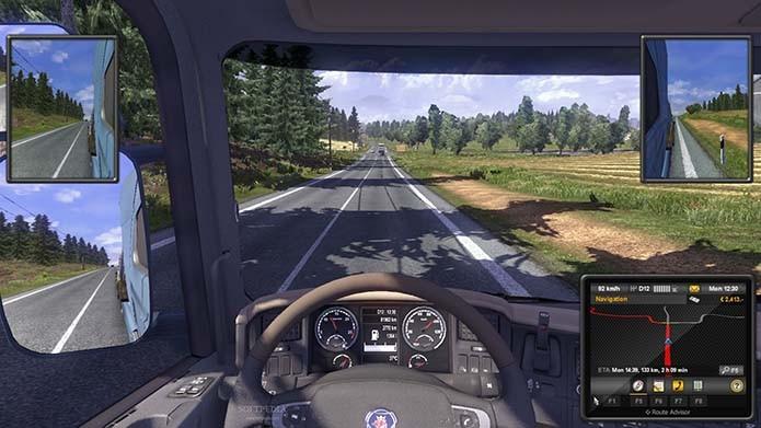 Veja lista com os melhores jogos simuladores de caminhão para PC e Smartphones (Foto: Divulgação)