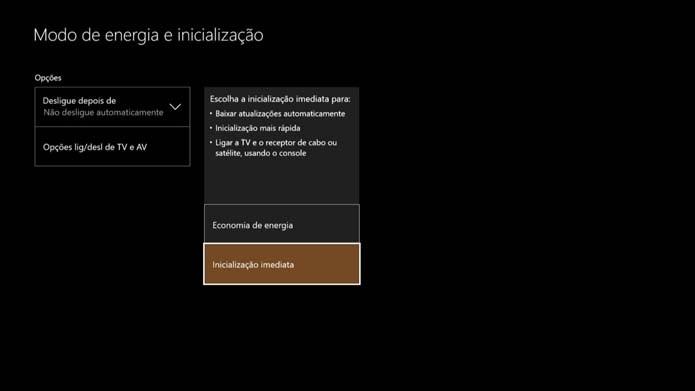 Xbox One não liga com comando de voz (Foto: Reprodução/Murilo Molina)