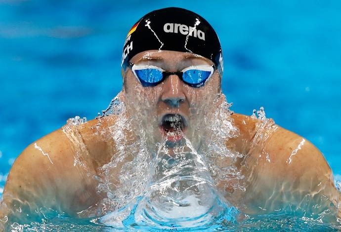 Alemão Marco Koch competes nos 200m peito nos Jogos (Foto:  Clive Rose/Getty Images)
