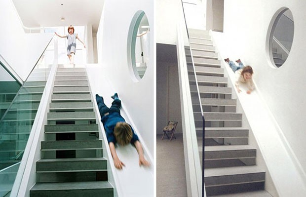 Ideias de escadas (Foto: Alex Michaelis / Divulgação)