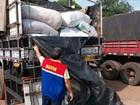 Cerca de 800 sacas de trigo são apreendidas no sudeste do Pará