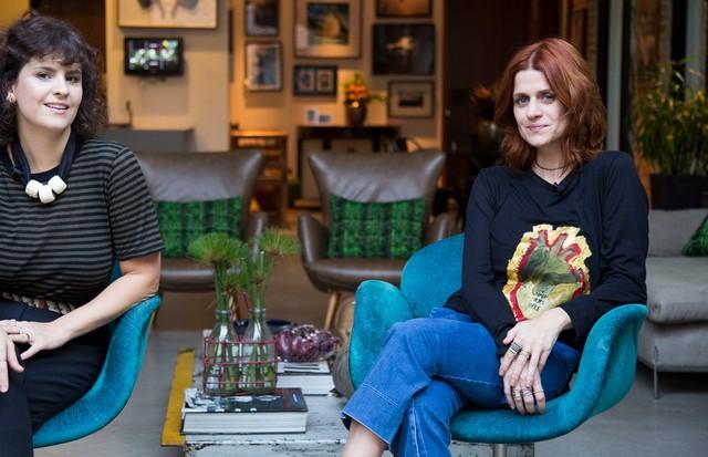 Ana Strumpf e Giu Romanno (Foto: Rafael Avancini)