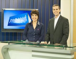 Patrícia Piveta e Gustavo Parra (Foto: Divulgação/RPC TV)