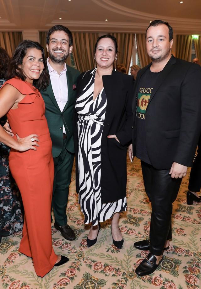 Daniela Falcão, Bruno Astuto, Silva Rogar e Manuel Arnaut (Foto: François Goize)