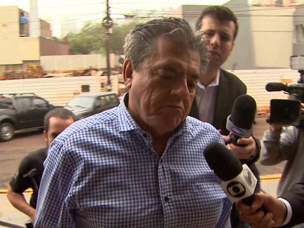 O diretor do Daerp e empresário Luiz Alberto Mantilla Rodrigues Netto é suspeito de ser o operador de propinas no Daerp (Foto: Reprodução/EPTV)