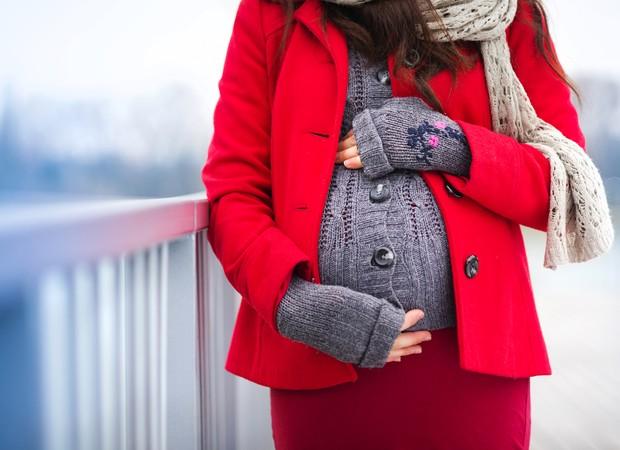 As vantagens de estar grávida no inverno (Foto: Thinkstock)
