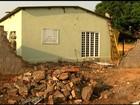 Chuva e vento forte causam estragos em Goiânia e cidades do interior