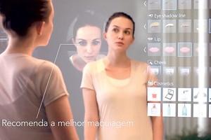 Espelho Beauty, da Panasonic (Foto: Divulgação)