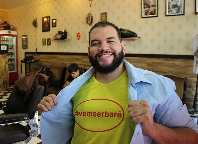 Jorjão Pampolha é cantor e compositor  (Foto: Katiúscia Monteiro/ Rede Amazônica)