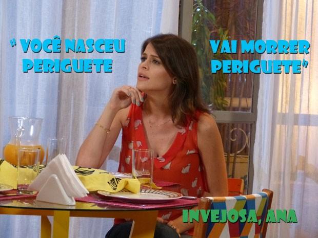 Que víbora vingativa :O Como é que Fatinha ainda tem paciência pra escutar isso? (Foto: Malhação / Tv Globo)