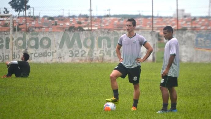 Novos jogadores Uberlândia Esporte Elivelton e Fábio Pereira (Foto: Canal UEC )