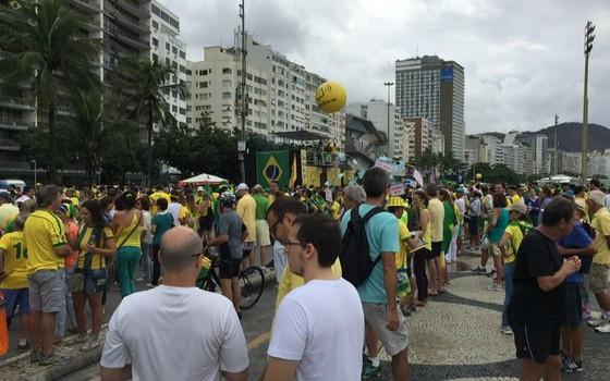 Manifestação do dia 13 de março no Rio de Janeiro (Foto: ÉPOCA)