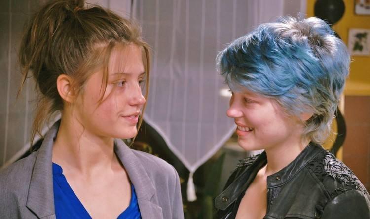 """Cena do filme """"Azul é a cor mais quente"""" (Foto: Reprodução)"""