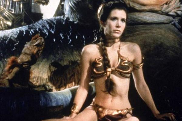 Carrie Fisher em O Retorno de Jedi (Foto: Reprodução)