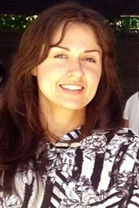 Michele sofreu o acidente em 2006 (Foto: Michele Simões/Arquivo pessoal)