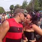'O carnaval reforça nosso amor', diz casal (Dyepeson Martins/G1)