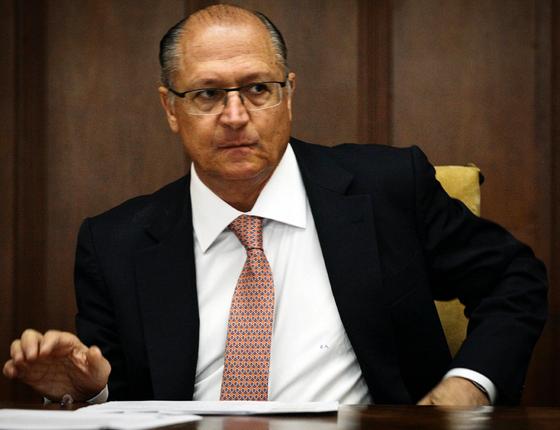 O governador de São Paulo Geraldo Alckmin (Foto:  Aloisio Mauricio /Fotoarena/Folhapress)