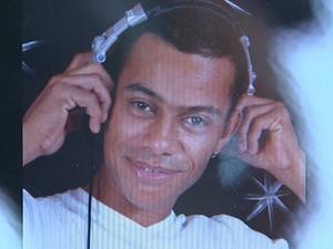 O DJ André Rogério Borges teve um traumatismo craniano depois de uma briga em Monte Alto, SP (Foto: Reprodução/ EPTV)