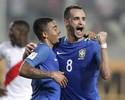Muricy rasga elogios a Coutinho, e Noriega destaca jogo coletivo do Brasil