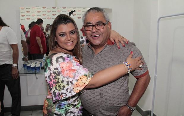 Preta Gil e Jayder Soares  (Foto: Isac Luz/EGO)