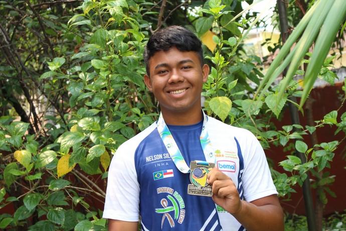 Atleta Arqueiro do AM (Foto: Felipe Lobo/FAS)