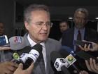 Definição do PMDB na convenção pode 'aumentar a crise', diz Renan