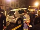 Uber é guinchado após confusão em Santos; aplicativo é proibido na cidade