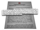 MP ajuíza ação após constatar rombo de 1,6 milhão na prefeitura de Oeiras