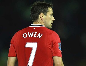 Michael Owen no jogo do Manchester United (Foto: Getty Images)