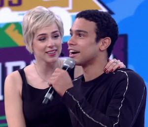 Sophia Abrahão e Sérgio Malheiros perdem a disputa (Foto: TV Globo)