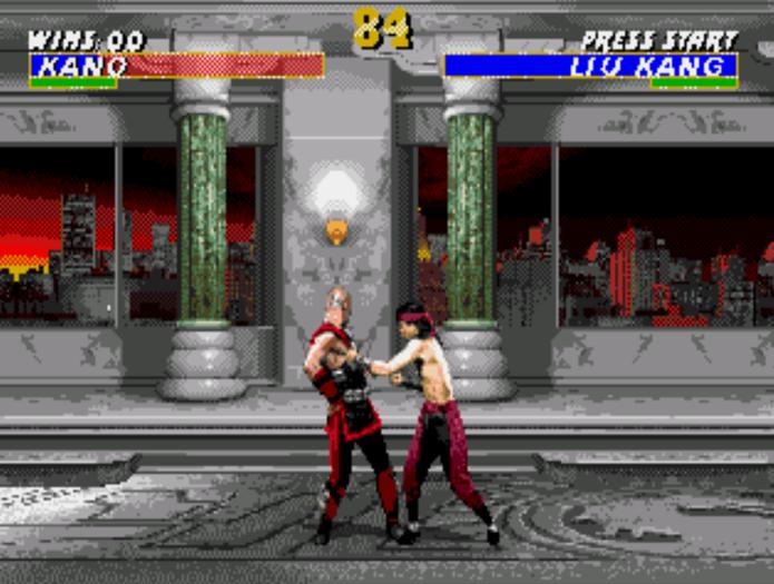 Mortal Kombat 3 do Mega Drive está disponível no Game Oldies (Foto: Reprodução/Anna Kellen Bull)