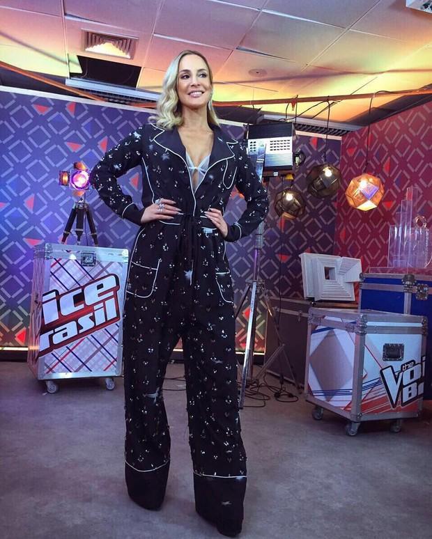 Claudia Leitte no The Voice Brasil (Foto: Reprodução/Instagram)