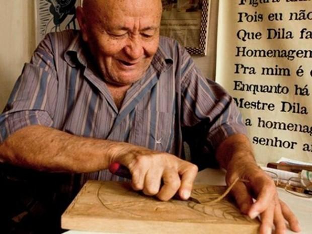 Mestre Dila (Foto: Divulgação/ Ricardo Moura)