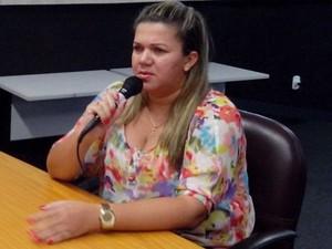 Rita Henrique dos Santos (Foto: Flávio Antunes / G1)