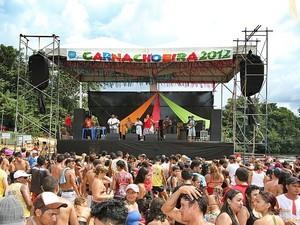 No ano passado, Carnachoeira reuniu 20 mil foliões (Foto: Divulgação / Prefeitura de Presidente Figueiredo)