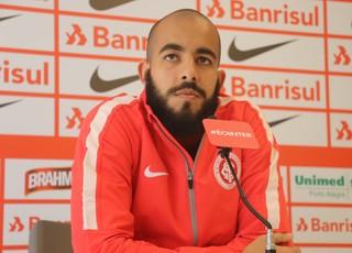 Internacional Inter Danilo Fernandes (Foto: Eduardo Deconto/GloboEsporte.com)