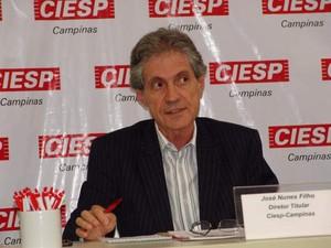 O diretor regional do Ciesp em Campinas, José Nunes Filho (Foto: Roncon e Graça Comunicações)