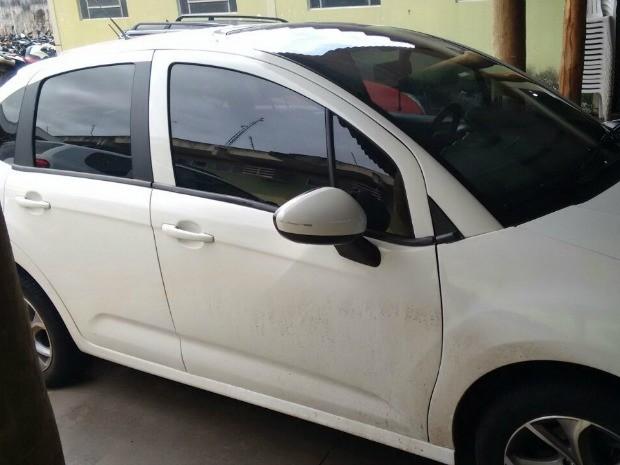 Veículos apreendido com suspeitos de furtos em Campo Grande (Foto: Derf/ Divulgação)