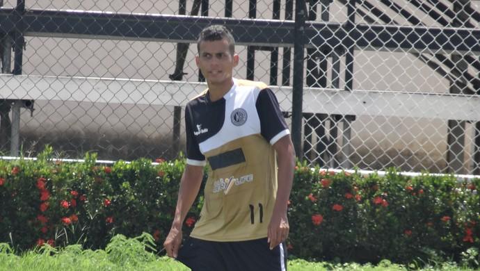 Jean Carlos, atacante do ASA (Foto: Leonardo Freire/GloboEsporte.com)