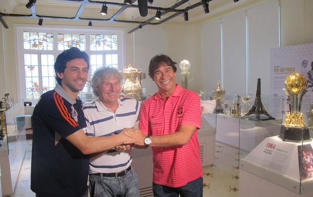 Ricardo Berna, Mickey, e Paulo Victor Fluminense (Foto: Leonardo Filipo / Globoesporte.com)