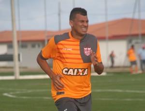 Neto Baiano CRB (Foto: Douglas Araújo / Assessoria CRB)