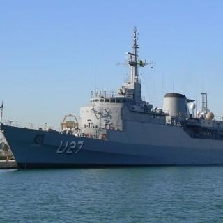 Navio ficará aberto para visitação (Foto: Divulgação/ Marinha)