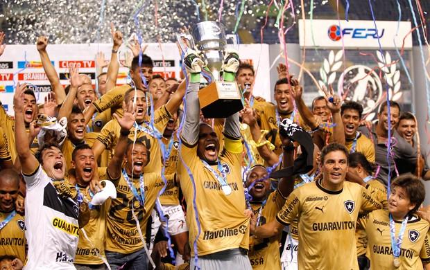 Botafogo campeão da Taça Guanabara (Foto: Ivo Gonzalez/Agência O Globo)
