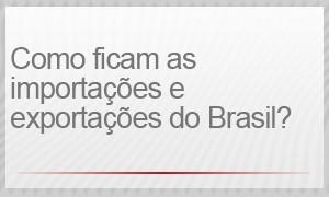 Como ficam as importações e exportações do Brasil? (Foto: G1)