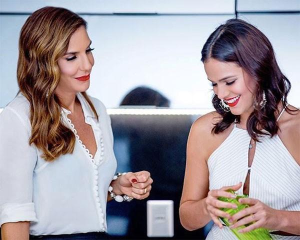 Ivete Sangalo e Bruna marquezine (Foto: Reprodução/Instagram)
