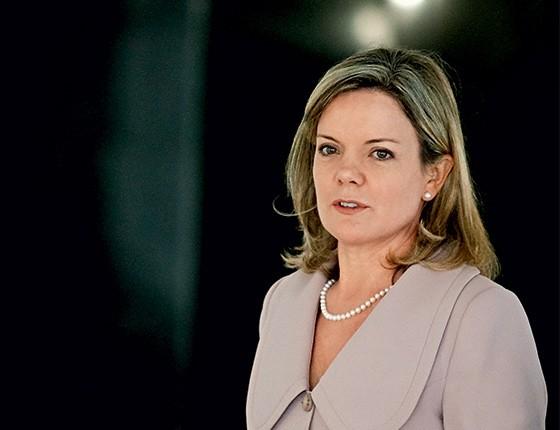 A senadora Gleisi Hoffmann (PT-PR) (Foto: Pedro Ladeira/Folhapress)