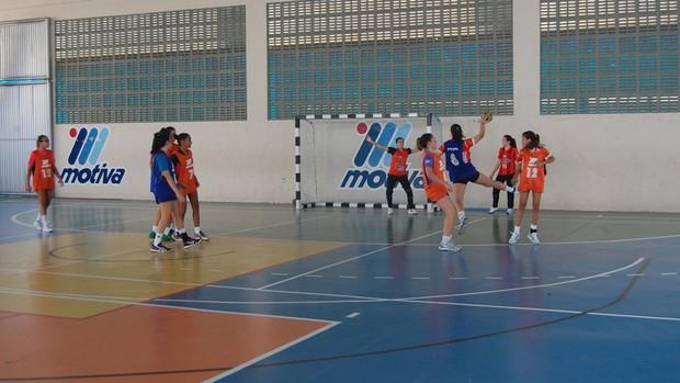 Motiva, equipe de Handebol (Foto: Lucas Barros / Globoesporte.com/pb)