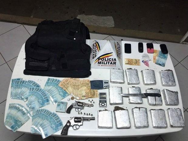 Operação da PM em Juiz de Fora (Foto: PM/Divulgação)