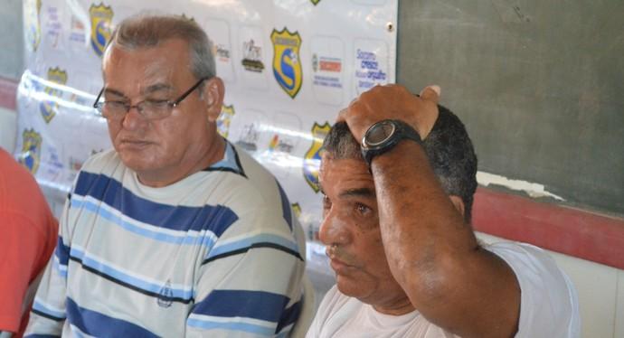 Apresentação Socorrense (Foto: João Áquila / GloboEsporte.com)