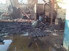 Incêndio atinge 12 oficinas mecânicas na região do Sabará, em Ponta Grossa